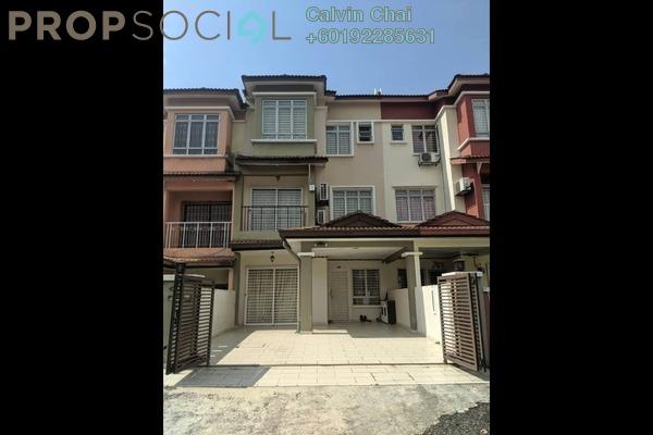 Terrace For Rent in Taman Puncak Jalil, Bandar Putra Permai Freehold Fully Furnished 4R/3B 2.5k