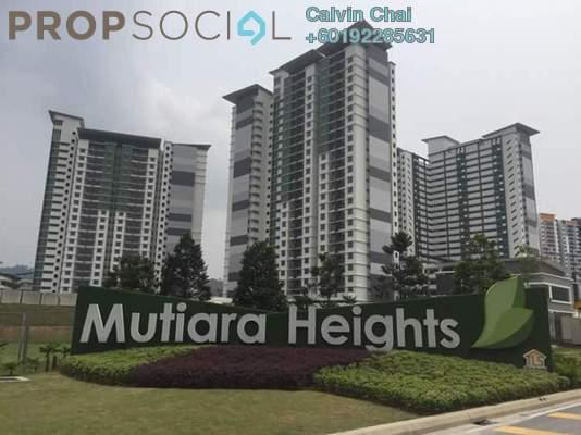 Condominium For Rent in Ivory Residence, Kajang Freehold Semi Furnished 3R/2B 1k