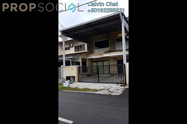 Terrace For Rent in Taman Bukit Kajang Baru, Kajang Freehold Semi Furnished 4R/3B 1.4k
