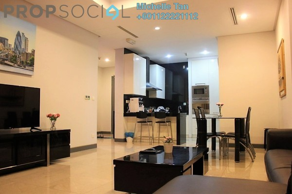 Serviced Residence For Rent in Pavilion Residences, Bukit Bintang Freehold Fully Furnished 2R/2B 5.5k