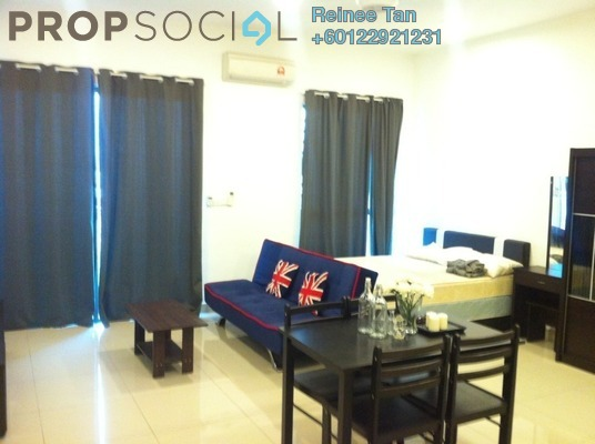 Condominium For Rent in CyberSquare, Cyberjaya Freehold Fully Furnished 0R/1B 1.3k