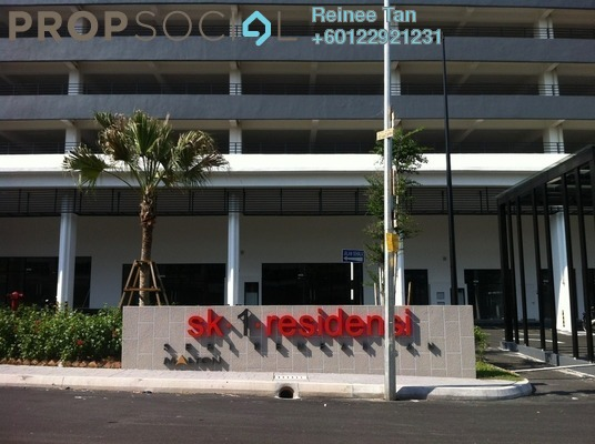 Condominium For Rent in SK One Residence, Seri Kembangan Freehold Semi Furnished 3R/2B 1.5k