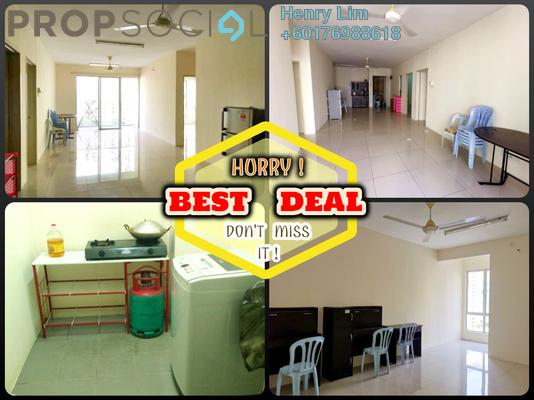 Condominium For Rent in Platinum Lake PV16, Setapak Freehold Semi Furnished 4R/2B 1.2k