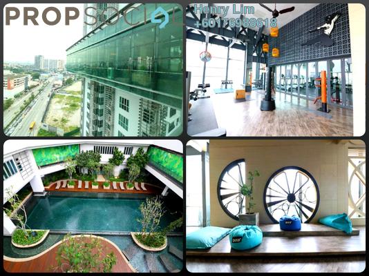 Serviced Residence For Rent in VERVE Suites, Old Klang Road Freehold Fully Furnished 2R/2B 2.8k