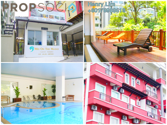 Condominium For Rent in Mei On The Madge, Ampang Hilir Freehold Fully Furnished 1R/2B 1.8k