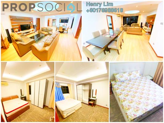 Condominium For Rent in Angkasa Impian 1, Bukit Ceylon Freehold Fully Furnished 4R/4B 4k