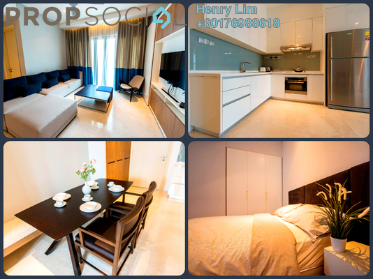 Serviced Residence For Rent in Damai 88, Ampang Hilir Freehold Fully Furnished 2R/2B 3k