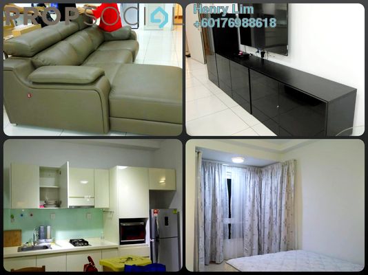 Serviced Residence For Rent in V Residence 3 @ Sunway Velocity, Cheras Freehold Fully Furnished 2R/2B 2.1k