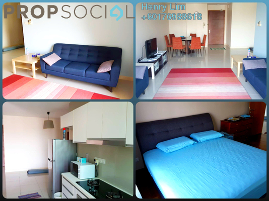 Condominium For Rent in Gaya Bangsar, Bangsar Freehold Fully Furnished 2R/2B 3k