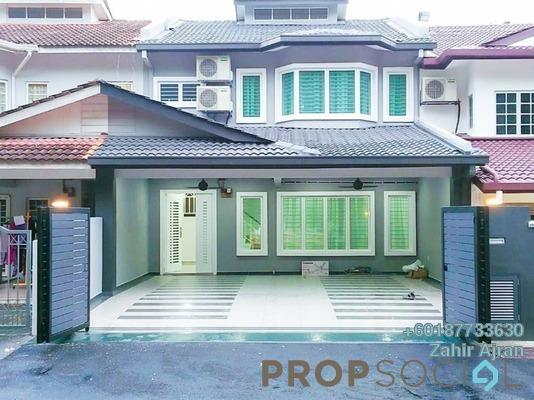 Terrace For Sale in De Rozelle, Kota Damansara Freehold Fully Furnished 4R/3B 950k