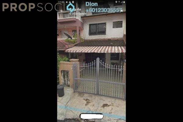 Terrace For Sale in Taman Sri Sinar, Segambut Freehold Semi Furnished 3R/2B 398k