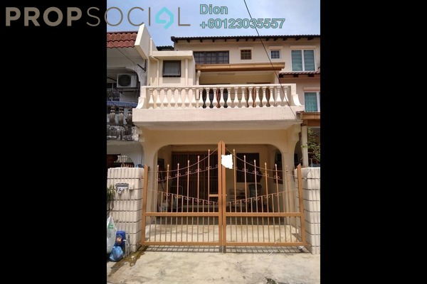 Terrace For Sale in Taman Sri Sinar, Segambut Freehold Fully Furnished 3R/3B 395k