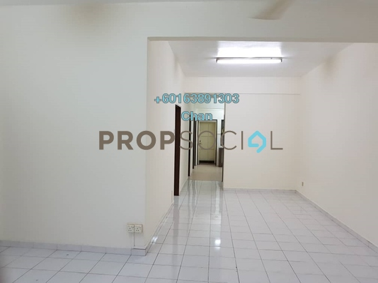 Townhouse For Rent in Taman Wangsa Permai, Kepong Freehold Unfurnished 3R/2B 1.1k