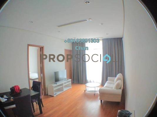 Condominium For Rent in Vipod Suites, KLCC Freehold Fully Furnished 2R/1B 3.3k