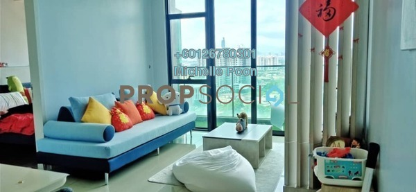 Condominium For Sale in The Leafz, Sungai Besi Freehold Fully Furnished 2R/2B 675k