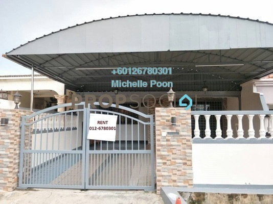 Terrace For Rent in Taman Sri Endah, Sri Petaling Freehold Semi Furnished 4R/2B 1.9k