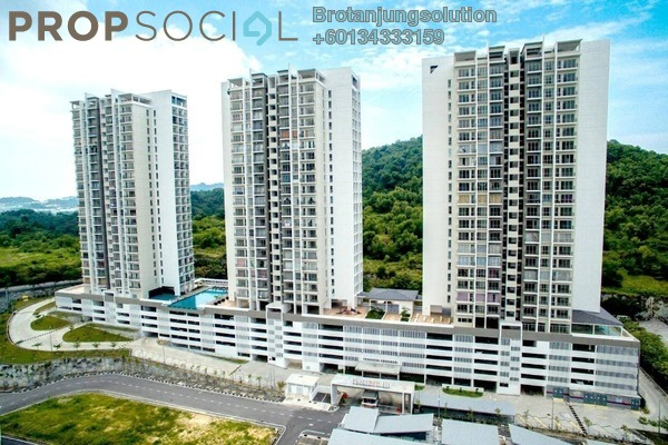 Condominium For Rent in Teluk Kumbar Heights, Teluk Kumbar Freehold Unfurnished 3R/2B 1.2k