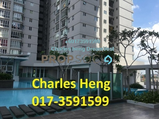 Condominium For Rent in Maxim Residences, Cheras Freehold Unfurnished 1R/1B 1k