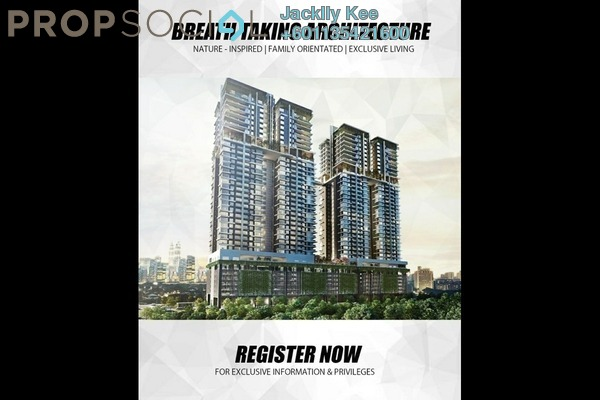 Condominium For Sale in The Address, Taman Desa Leasehold Unfurnished 4R/2B 670k