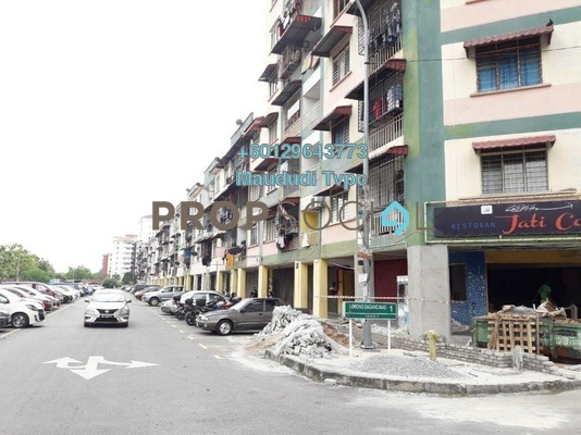 Apartment For Sale in Taman Mas Sepang, Puchong Freehold Semi Furnished 3R/1B 169k