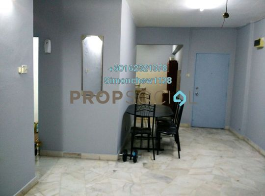 Apartment For Sale in Akasia Apartment, Pusat Bandar Puchong Freehold Semi Furnished 3R/2B 290k