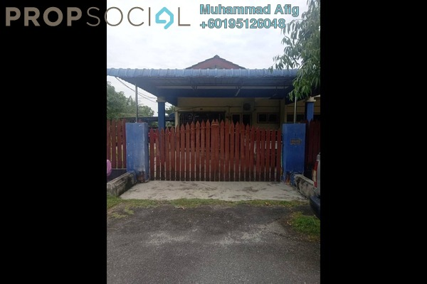Terrace For Sale in Taman Rakyat, Kamunting Freehold Semi Furnished 3R/2B 265k