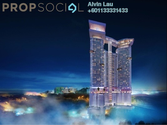 Condominium For Sale in Grand Ion Majestic, Genting Highlands Freehold Fully Furnished 1R/1B 446k