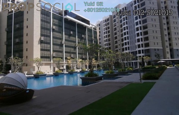 Condominium For Sale in Upper East @ Tiger Lane, Ipoh Freehold Unfurnished 3R/2B 460k