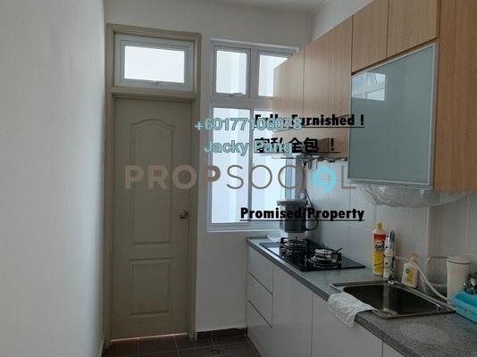 Serviced Residence For Rent in The Senai Garden, Senai Freehold Fully Furnished 1R/2B 1.35k