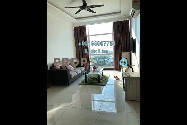 Condominium For Sale in Paragon Residences @ Straits View, Johor Bahru Freehold Unfurnished 2R/2B 560k
