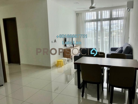 Apartment For Rent in Green Haven, Johor Bahru Freehold Fully Furnished 2R/2B 1.6k