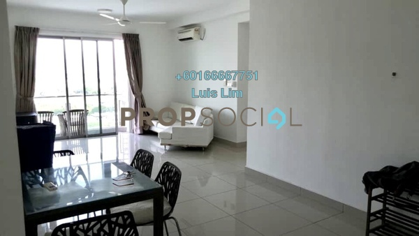 Apartment For Rent in Austin Suites, Tebrau Freehold Fully Furnished 2R/2B 1.5k