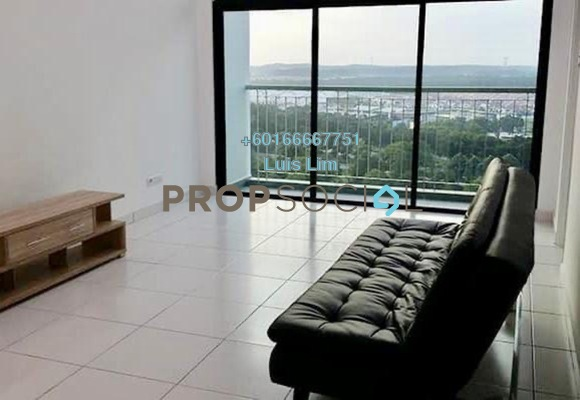 Apartment For Rent in Sky Peak Residences, Setia Tropika Freehold Fully Furnished 2R/2B 1.6k