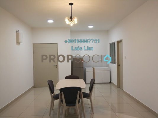 Apartment For Rent in The Aliff Residences, Johor Bahru Freehold Fully Furnished 2R/2B 1.5k