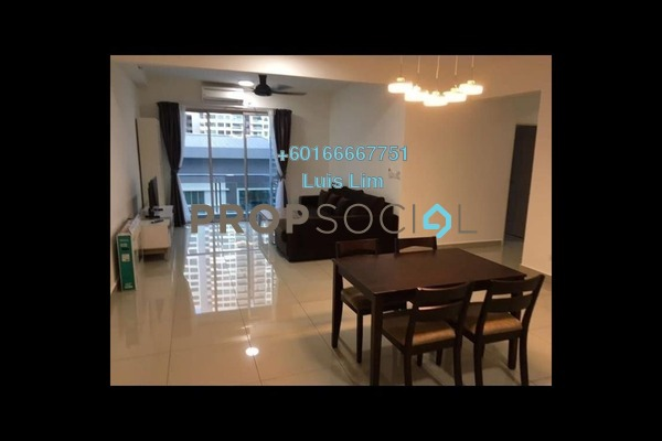 Apartment For Rent in Austin Suites, Tebrau Freehold Fully Furnished 3R/0B 1.8k