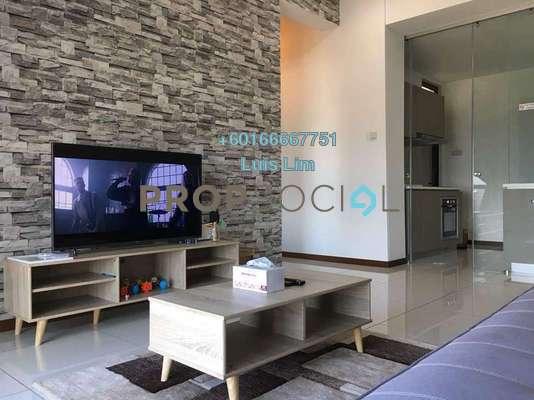 Apartment For Rent in Crescent Bay Suites, Johor Bahru Freehold Fully Furnished 2R/2B 1.8k