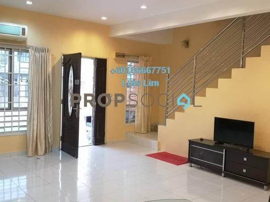 Terrace For Rent in Taman Setia Indah, Johor Bahru Freehold Fully Furnished 3R/3B 1.6k