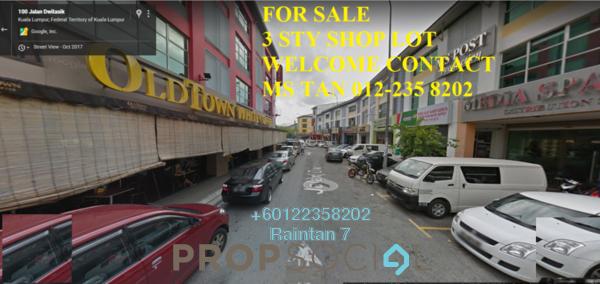Shop For Sale in Dataran Dwitasik, Bandar Sri Permaisuri Freehold Unfurnished 0R/6B 2.6m