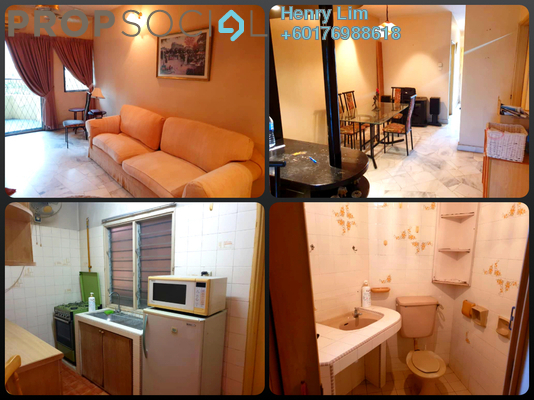 Condominium For Sale in Palm Court, Brickfields Freehold Fully Furnished 3R/2B 460k