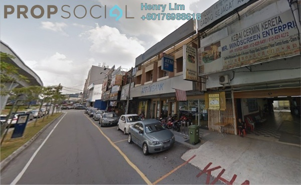 Shop For Sale in Taman Midah, Cheras Freehold Unfurnished 0R/0B 7.5m