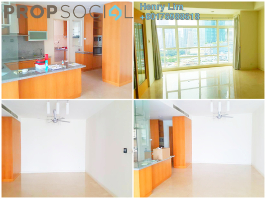 Serviced Residence For Sale in Binjai Residency, KLCC Freehold Semi Furnished 5R/4B 1.88m