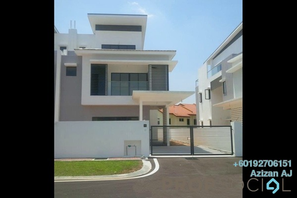 Semi-Detached For Sale in Kayumanis Garden Villa, Kajang Freehold Fully Furnished 6R/6B 1.2m