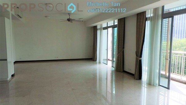 Condominium For Rent in Hampshire Residences, KLCC Freehold Semi Furnished 3R/3B 8k
