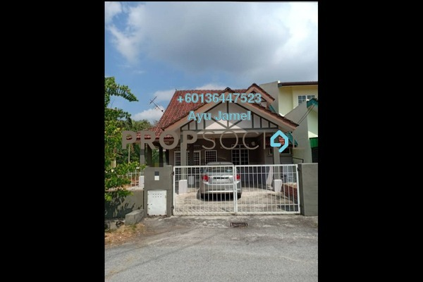 Semi-Detached For Rent in Kampung Teras Jernang, Bandar Baru Bangi Freehold Unfurnished 4R/3B 1.5k