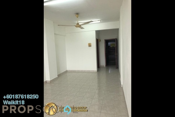 Apartment For Rent in Taman Bayu Puteri, Johor Bahru Freehold Unfurnished 3R/2B 1k