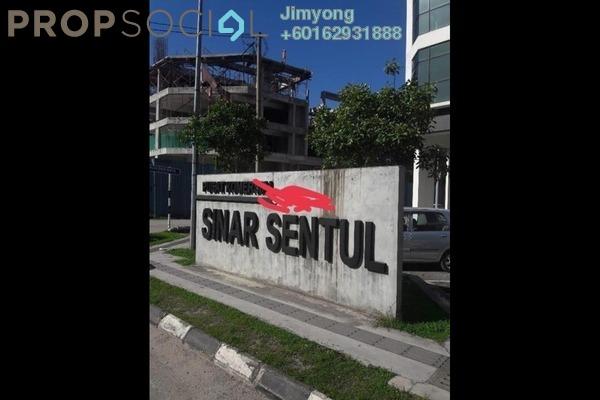 Office For Rent in Pusat Komersial Sinar Sentul, Sentul Freehold Unfurnished 0R/1B 1.4k