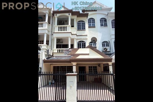 Terrace For Rent in Bayan Hill Homes, Bandar Puchong Jaya Freehold Semi Furnished 5R/4B 1.99k