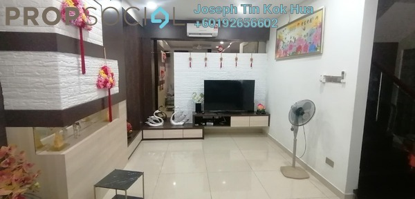 Semi-Detached For Sale in Taman OUG, Old Klang Road Leasehold Fully Furnished 7R/7B 1.8m