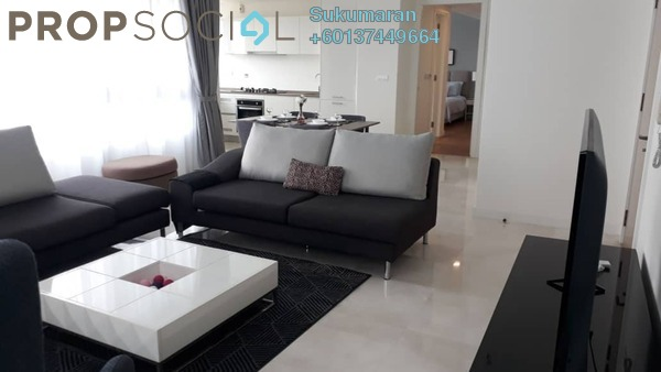 Condominium For Rent in The Sentral Residences, KL Sentral Freehold Fully Furnished 2R/2B 4.1k