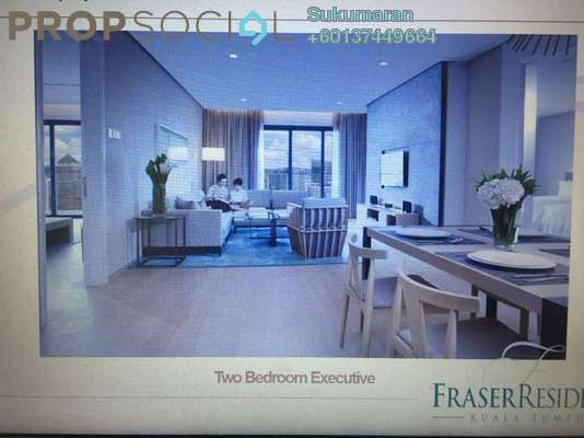Serviced Residence For Rent in 188 Suites, KLCC Freehold Fully Furnished 0R/1B 6.5k